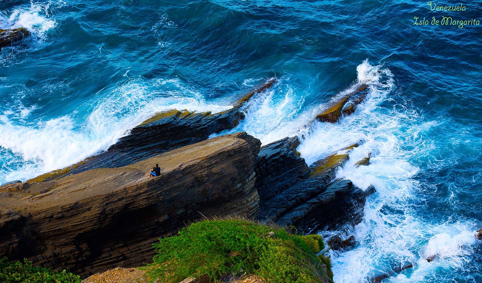 """photo """"***"""" tags: landscape, travel, nature, ocean, sea, Венесуэла, волны, о.Маргарита"""