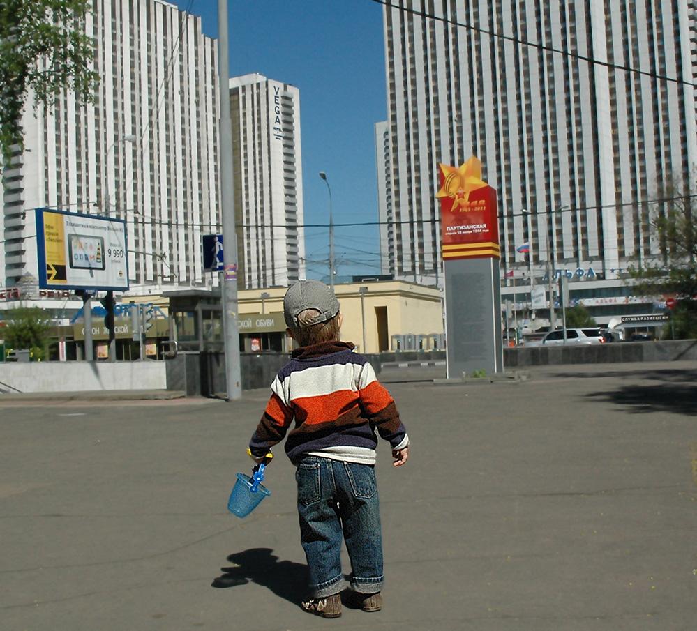 """фото """"Маленький человек в большом городе."""" метки: жанр,"""