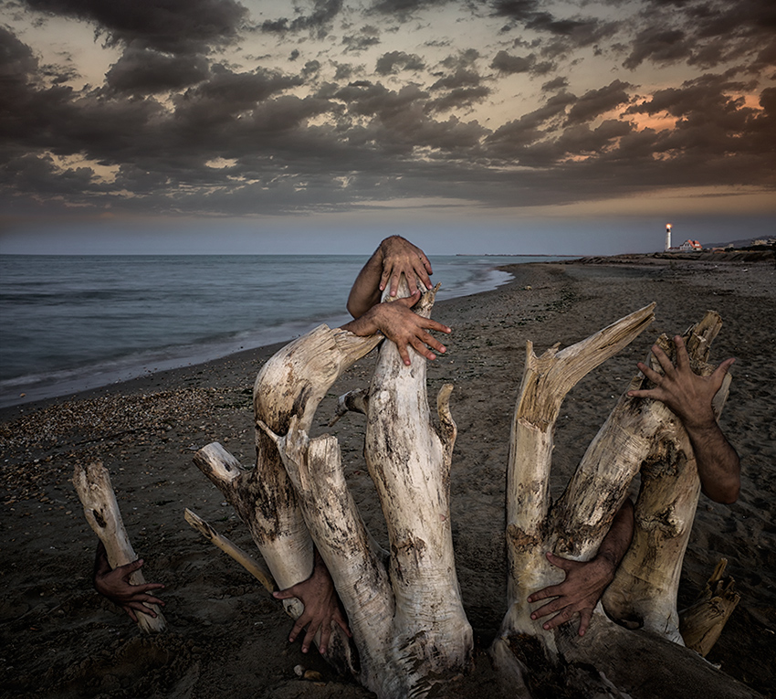 "фото ""tales of the sea and shipwrecks"" метки: пейзаж, фотомонтаж,"