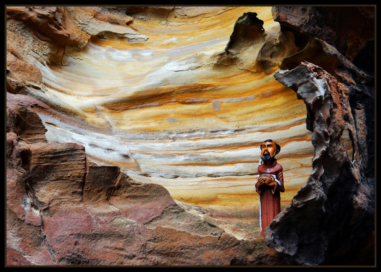 """photo """"Canyons of Xingó"""" tags: landscape, South America"""