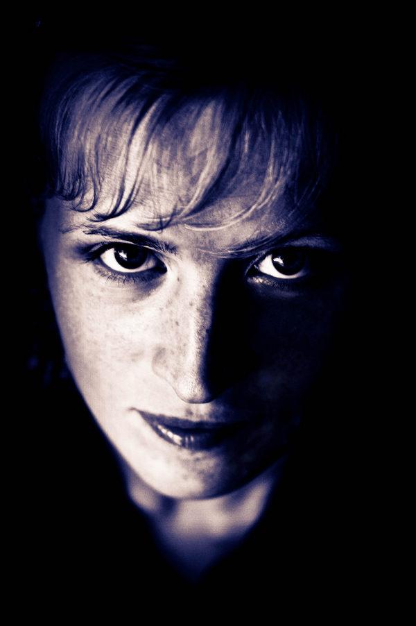 """фото """"Тёмный портрет"""" метки: портрет,"""