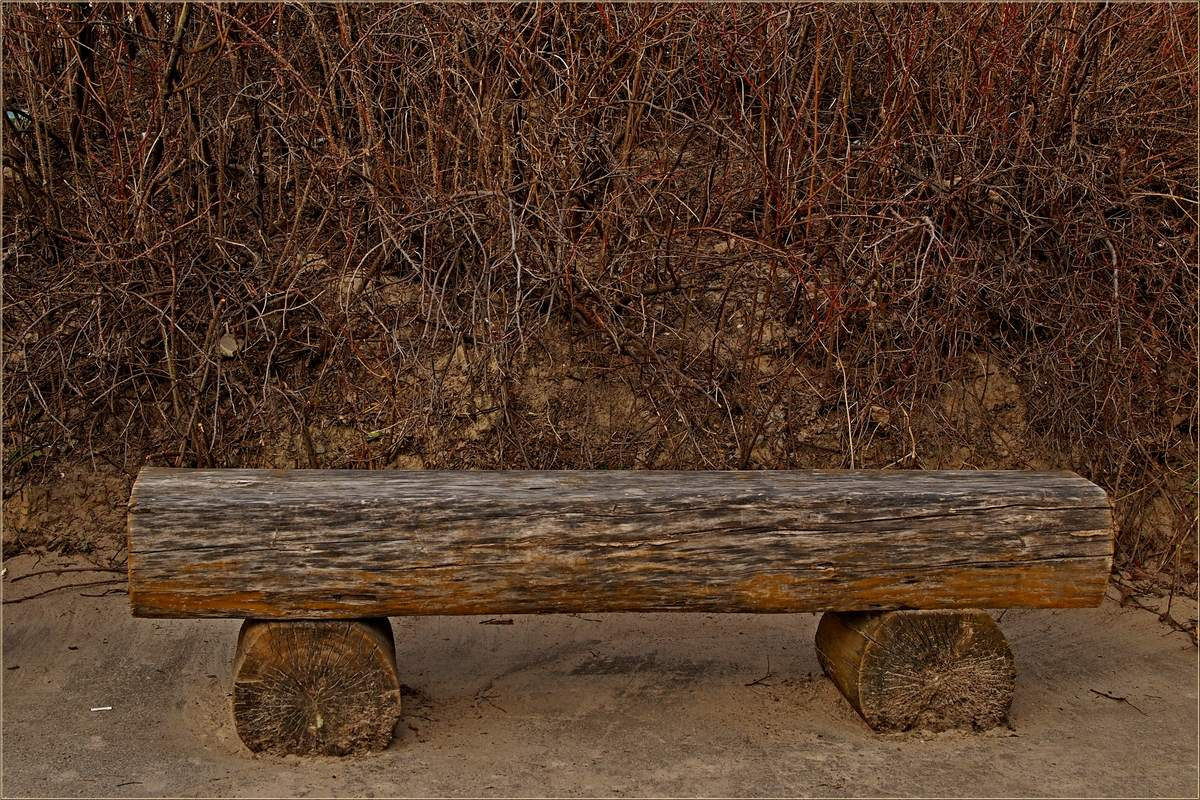 "photo ""Lonely bench"" tags: interior,"