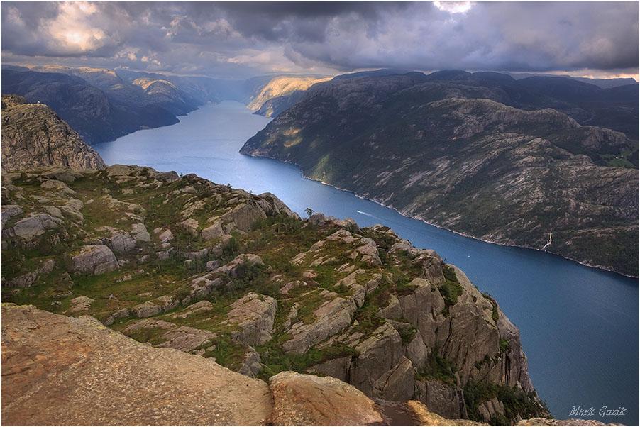 "photo ""View from Preikestolen"" tags: landscape,"