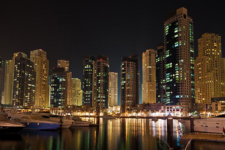 """фото """"ночной Дубай..."""" метки: архитектура,"""
