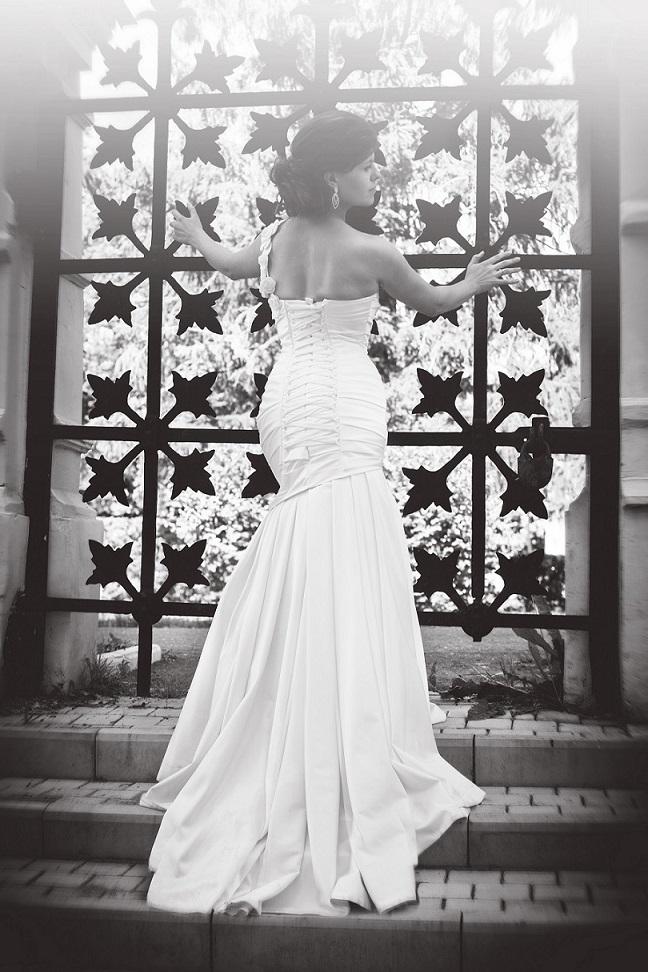 "photo ""***"" tags: portrait, black&white, Italy, bride, платье"