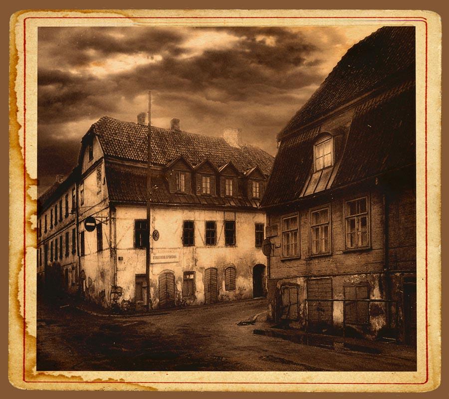 """фото """"Застывшее прошлое"""" метки: ретро, черно-белые, архитектура,"""