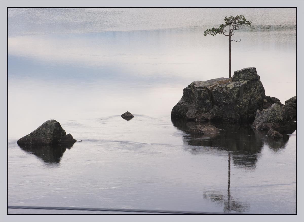 """фото """"Лаконичный пейзаж"""" метки: пейзаж, путешествия, камень, сосна"""