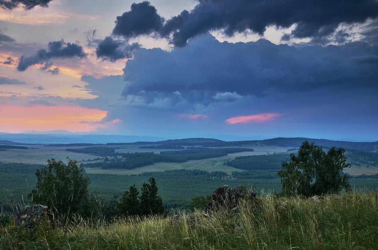 """фото """"***"""" метки: пейзаж, закат, лето, небо, облака"""