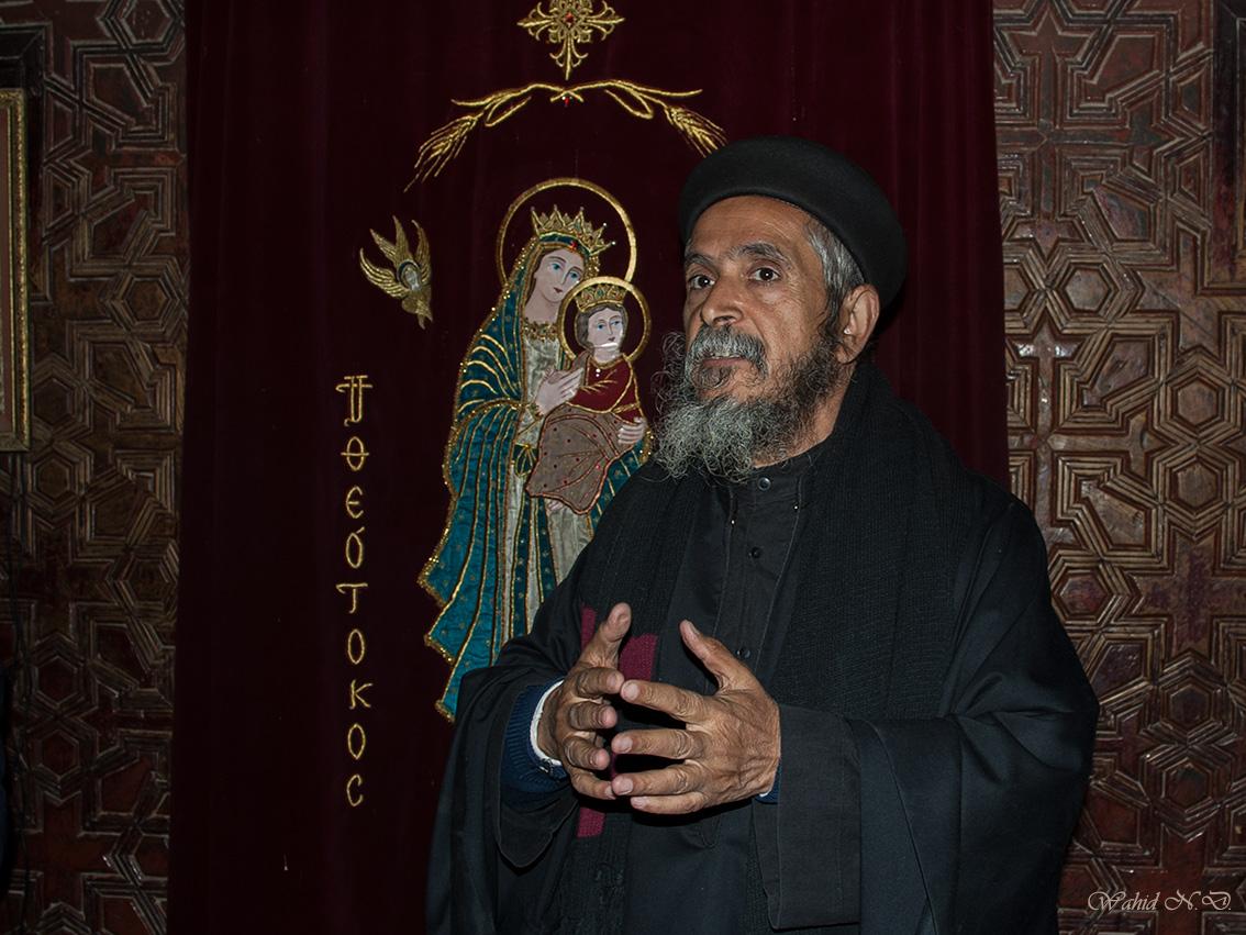 "фото ""Egyptian Priest"" метки: портрет, путешествия, жанр, Африка, храм"
