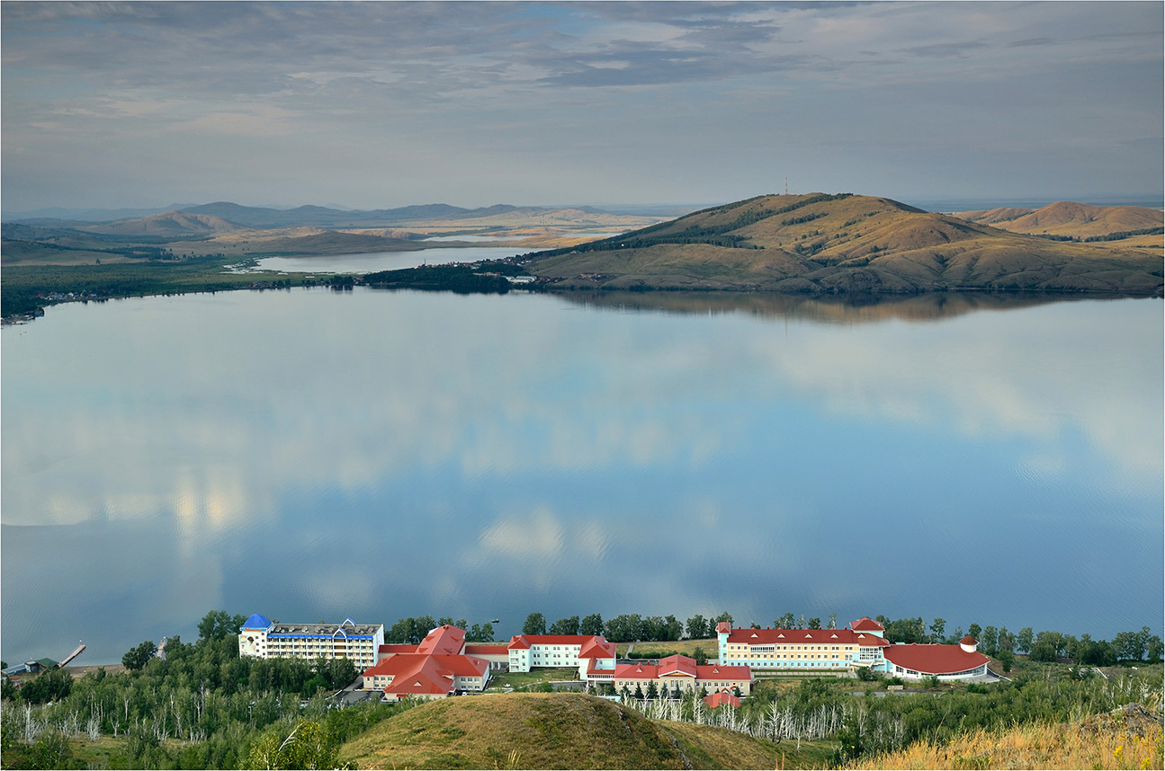 """фото """"Озеро Якты Куль - Банное"""" метки: пейзаж, вечер, горы, лето, озеро"""
