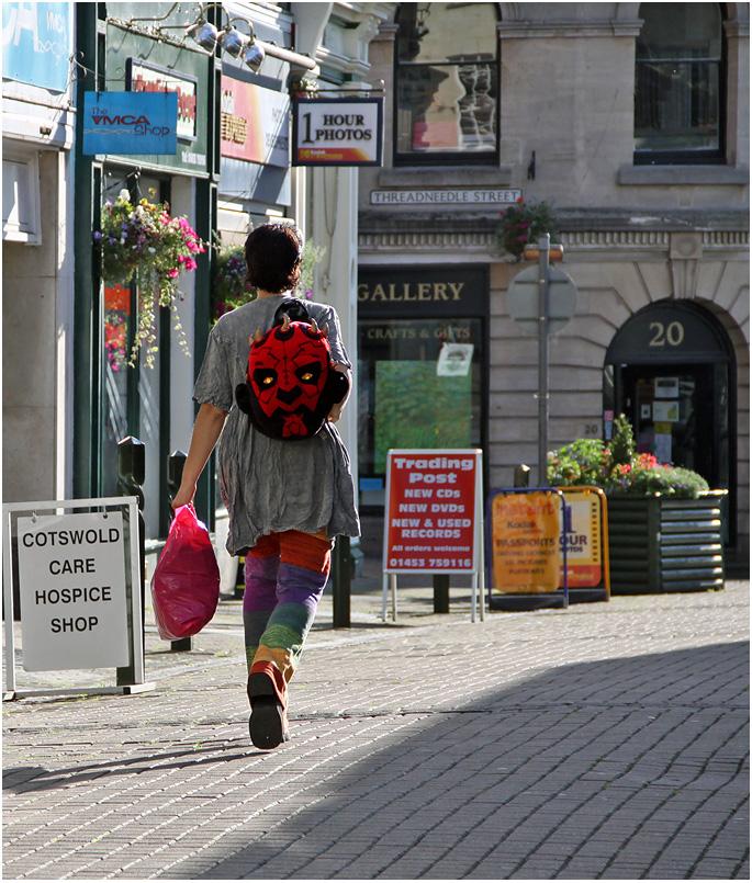 """фото """"В ногу со временем... Рюкзачок."""" метки: стрит-фото,"""