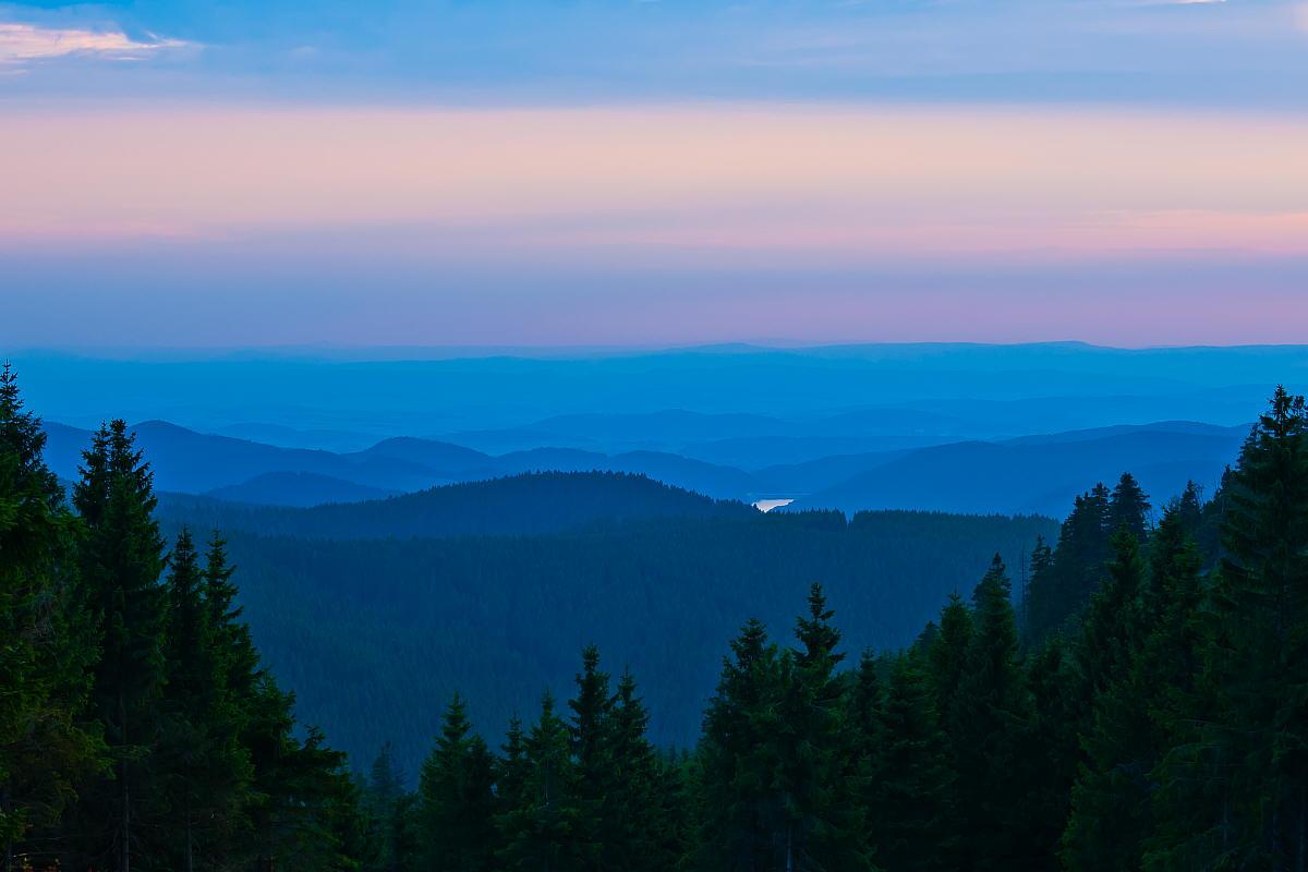 """фото """"Harz"""" метки: пейзаж, Europe, forest, горы, осень"""