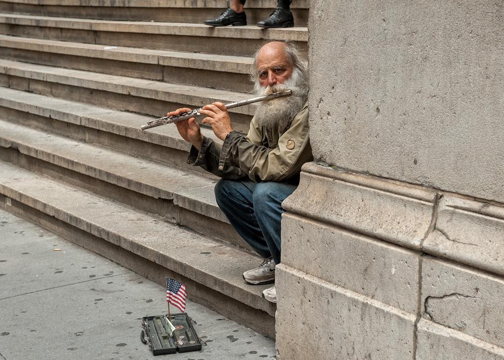 """фото """"Уличный музыкант"""" метки: жанр,"""