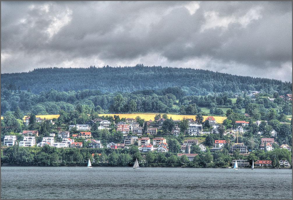 """фото """"Боденское озеро. Непогода."""" метки: пейзаж, путешествия, боденское озеро"""