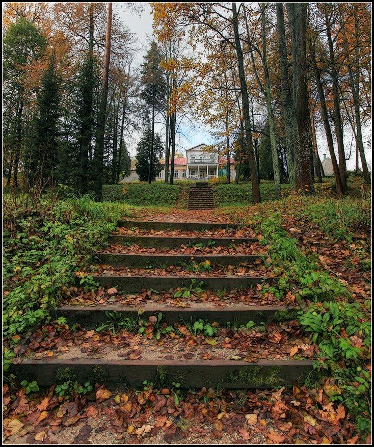 "фото ""осень в Абрамцево"" метки: пейзаж, природа, архитектура,"