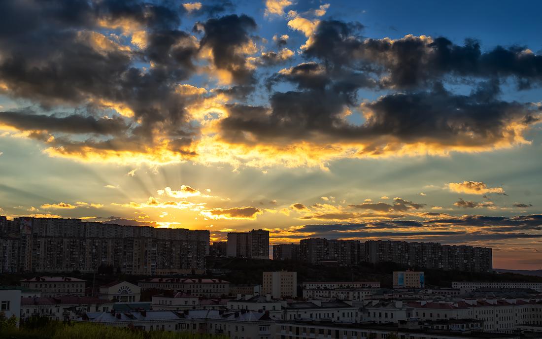 """фото """"Лучи уходящего лета...."""" метки: архитектура,"""