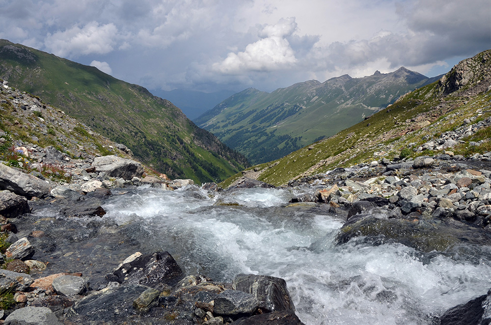 """фото """"Верховья реки Ак-айры."""" метки: пейзаж,"""