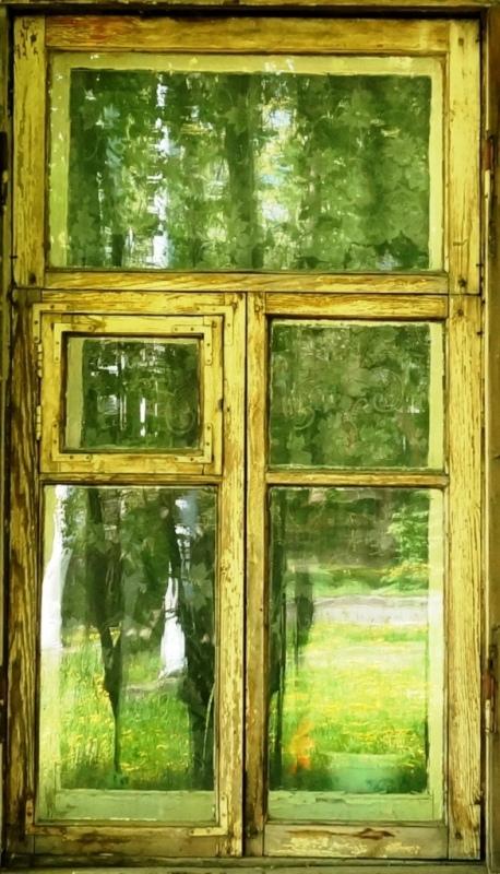"фото ""Окна в стиле импрессионизма"" метки: фрагмент, разное, интерьер,"