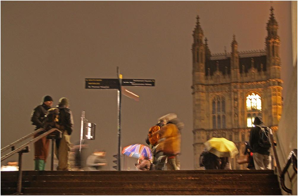"""фото """"В городе была """"хорошая"""" погода..."""" метки: стрит-фото, город, Лондон, вечер, зима"""