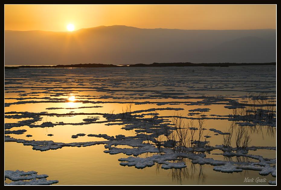 """фото """"Восход на Мёртвом Море"""" метки: пейзаж,"""
