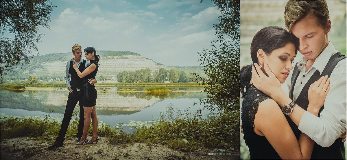 "фото ""фото-диптих. лав стори"" метки: пейзаж, портрет, девушка, мужчина"