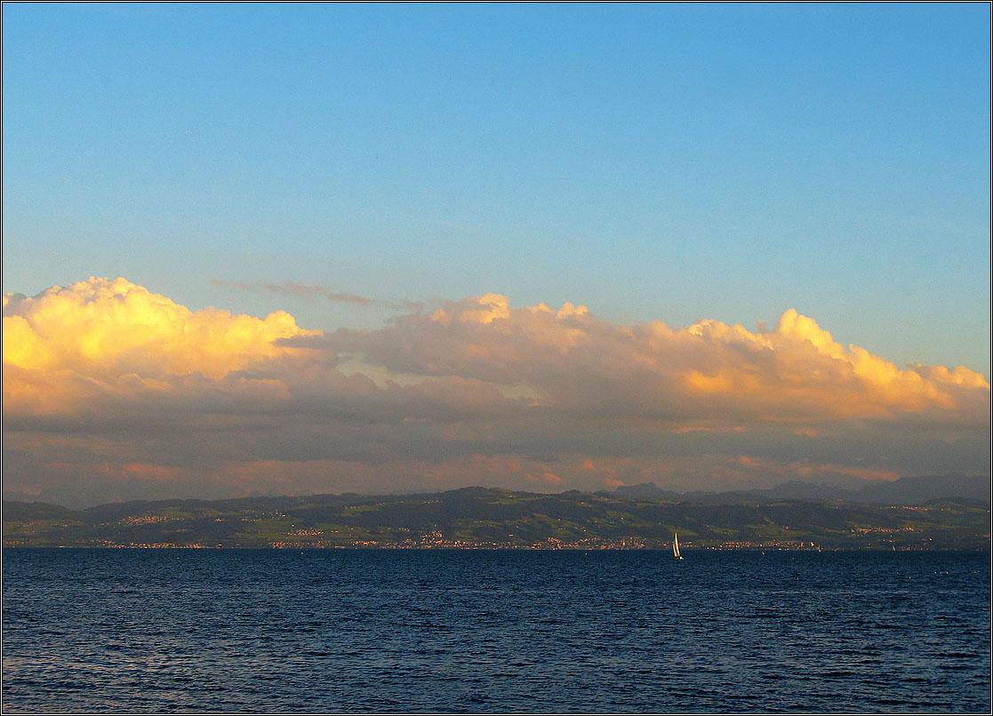 """фото """"Боденское озеро. Вечерело..."""" метки: пейзаж, путешествия, боденское озеро"""