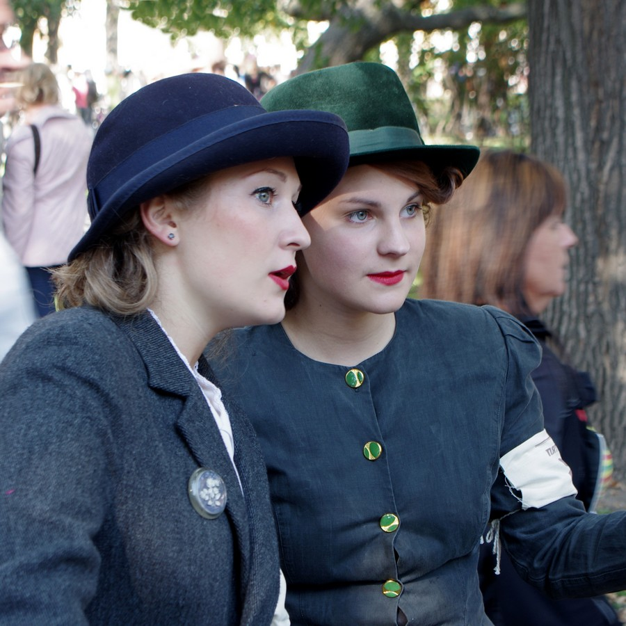 "фото ""twins"" метки: портрет, стрит-фото, репортаж, tweed run, Санкт-Петербург, лица, люди"