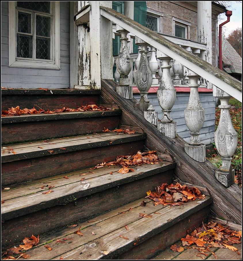 """фото """"осень старого дома"""" метки: архитектура, пейзаж,"""