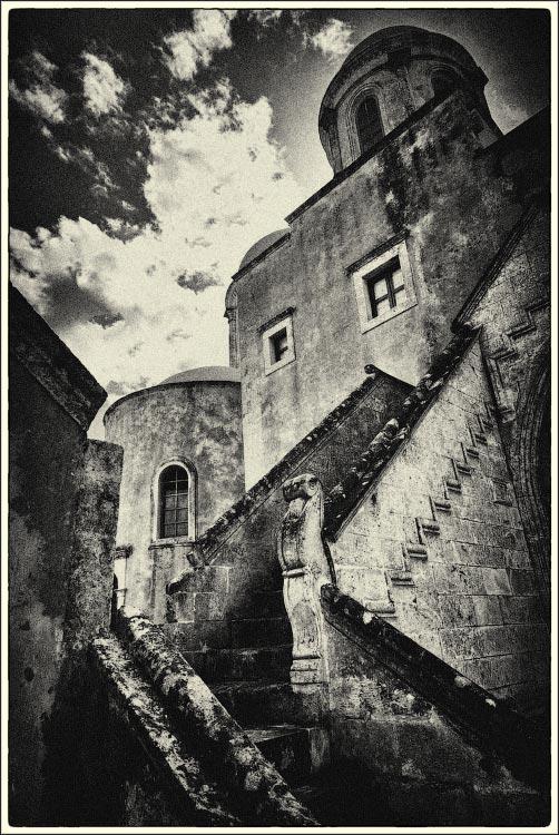 """фото """"Монастырь Святой Троицы. Крит. Греция."""" метки: путешествия, архитектура, Crete, Крит"""