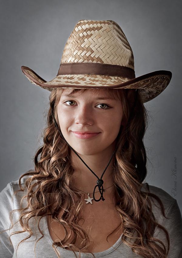 """фото """"Вероника."""" метки: портрет, девушка, шляпа"""