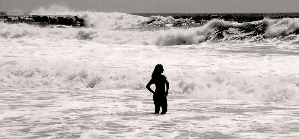 """фото """"The Sea... and  the Beauty..."""" метки: портрет, природа,"""