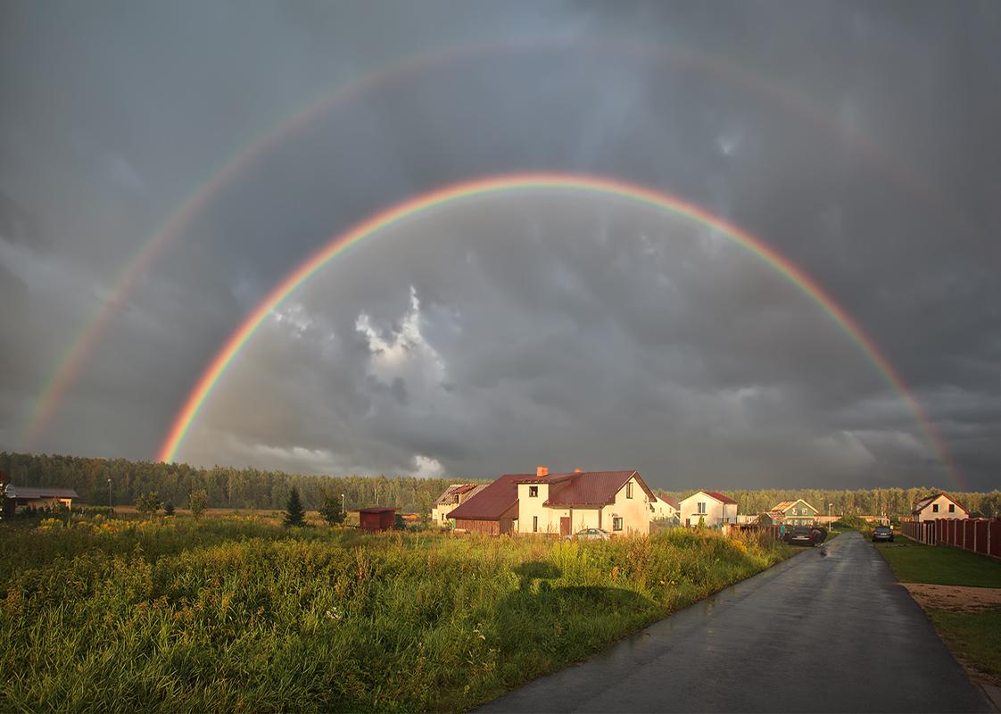 """фото """"***"""" метки: природа, радуга"""