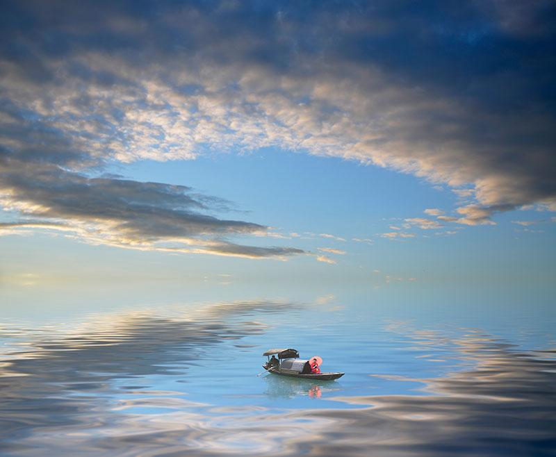 "фото ""The Reflection"" метки: пейзаж, digital art,"