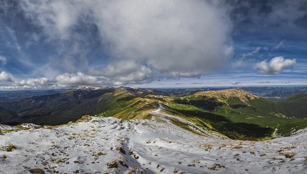"""фото """"Первый снег в Карпатах"""" метки: пейзаж, путешествия, природа,"""