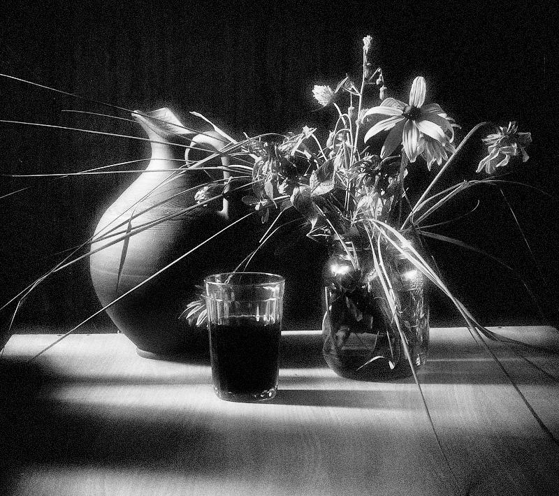 """фото """"В солнечный день"""" метки: натюрморт, черно-белые,"""