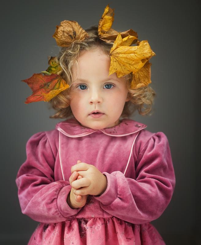 """фото """"Little Miss Autumn"""" метки: портрет,"""