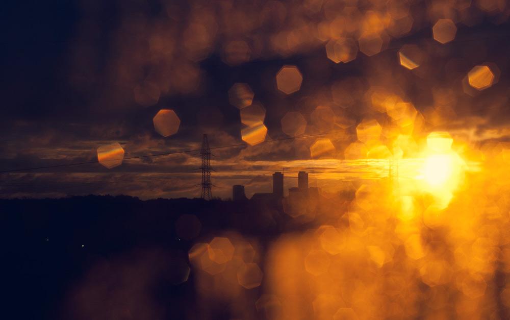 """фото """"Утро в моем окне..."""" метки: природа, город, разное, солнце"""