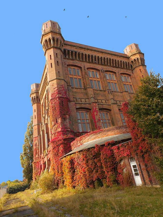 "фото ""Waterworks building"" метки: архитектура, Bremen, Europe, building"