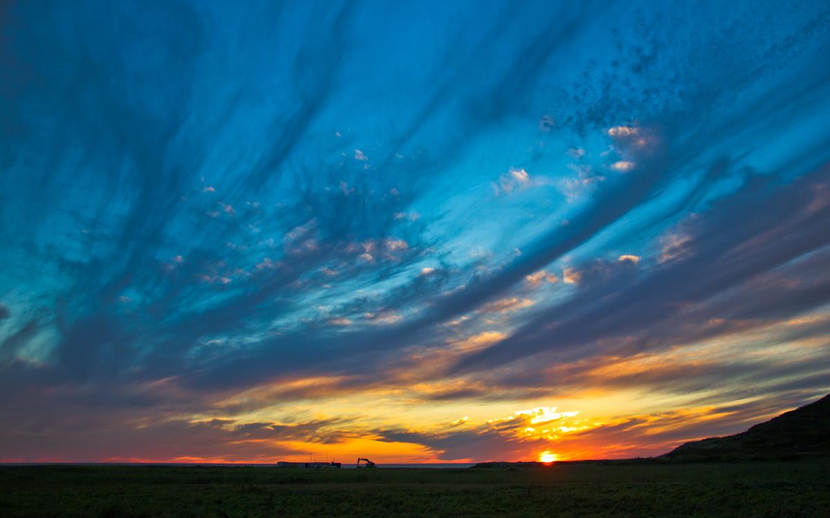 """фото """"про закат и про небо"""" метки: природа,"""