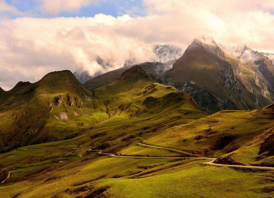 "фото ""GREEN"" метки: пейзаж, природа, Europe, color, digital, landscapes, photography, горы, небо, облака"