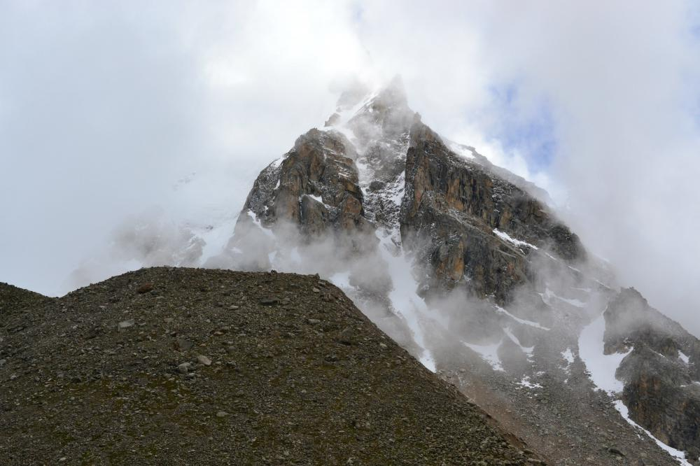 """фото """"Мы бредем сквозь снежных гор хребет.."""" метки: пейзаж, природа, путешествия,"""