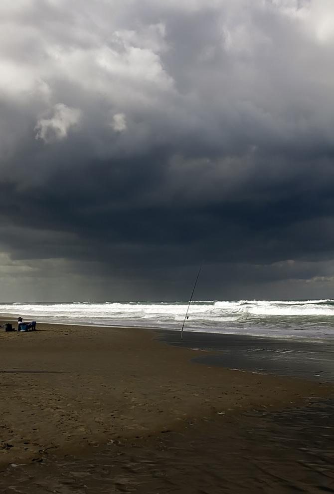 """фото """"Рыбалка"""" метки: пейзаж, путешествия, вода, облака, осень"""