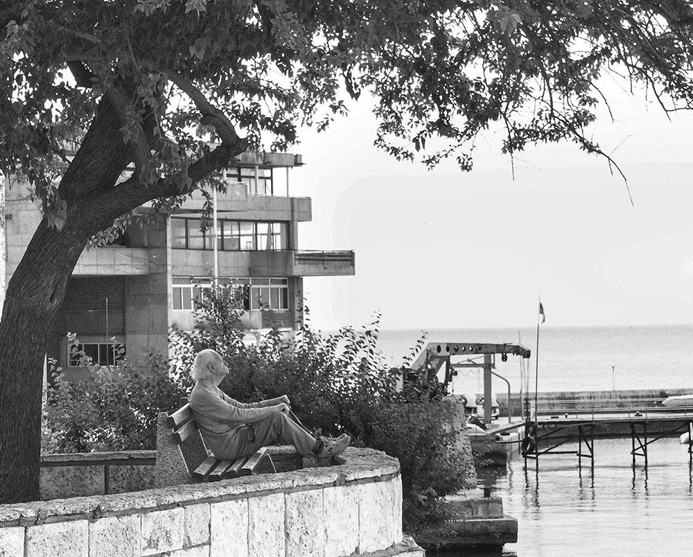"фото ""Старик и море"" метки: жанр, черно-белые, старик море"