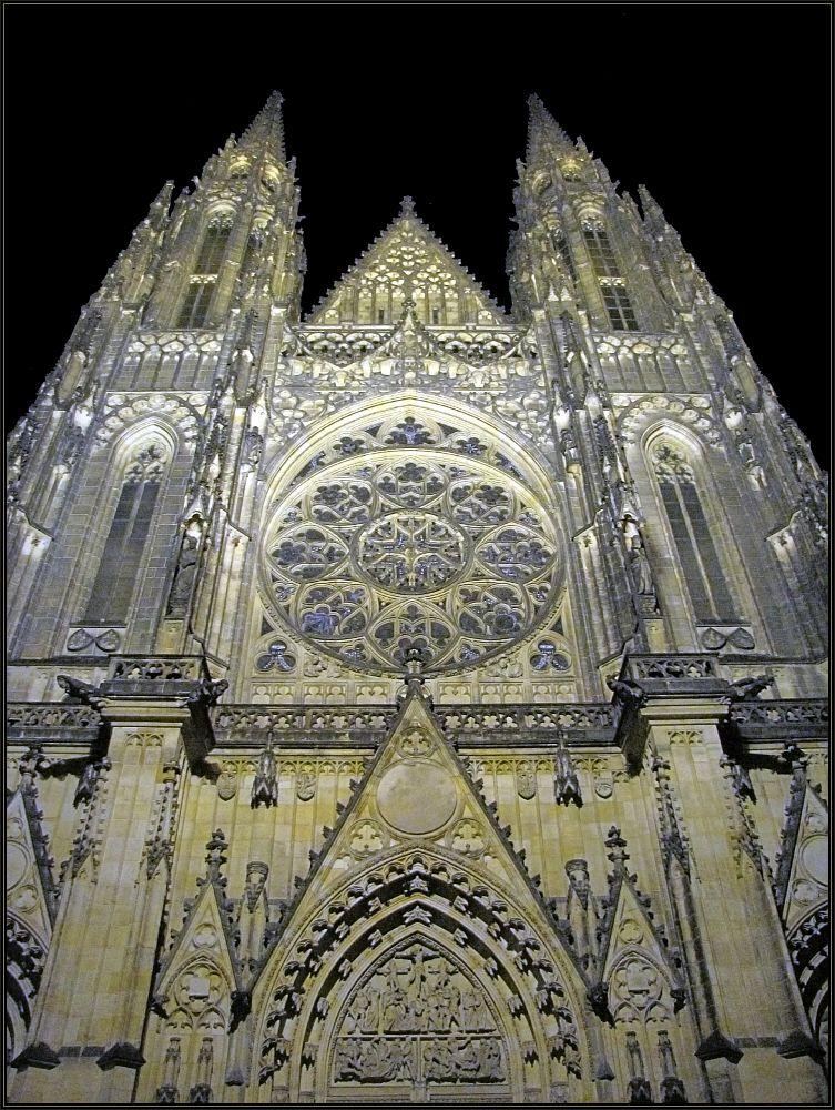 """фото """"Cобор Святого Вита"""" метки: архитектура, путешествия, Прага, Чехия"""