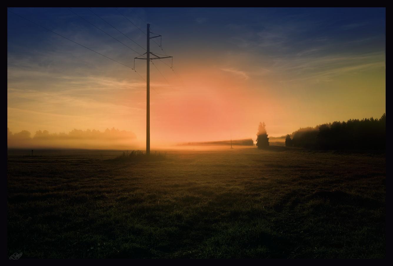"""фото """"Энергия восхода."""" метки: пейзаж, Восход, заря"""