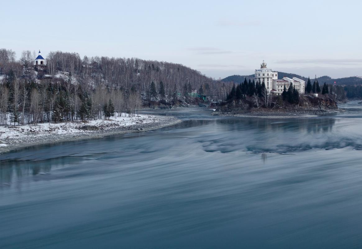 """фото """"Катунь в ноябре"""" метки: пейзаж,"""