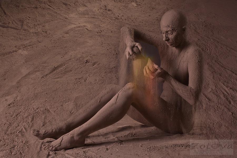 """фото """"Пески времени 3"""" метки: digital art, ню,"""