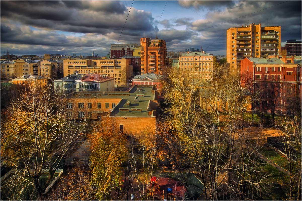 """фото """"Осень в Москве"""" метки: город,"""
