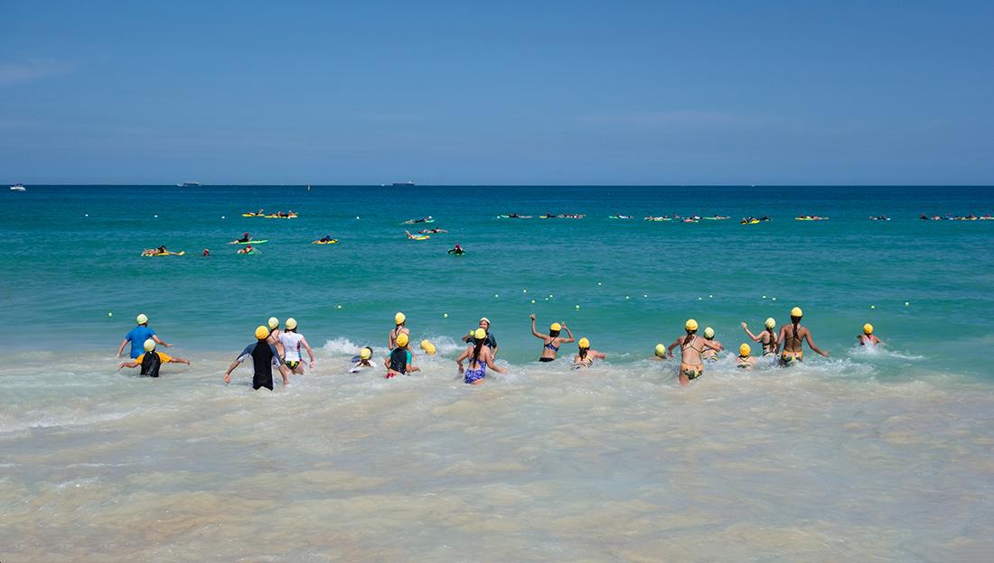 "фото ""Surfing School_2"" метки: спорт, репортаж, пейзаж, Sand, ocean, sea, summer, swimming, дети, серфинг"