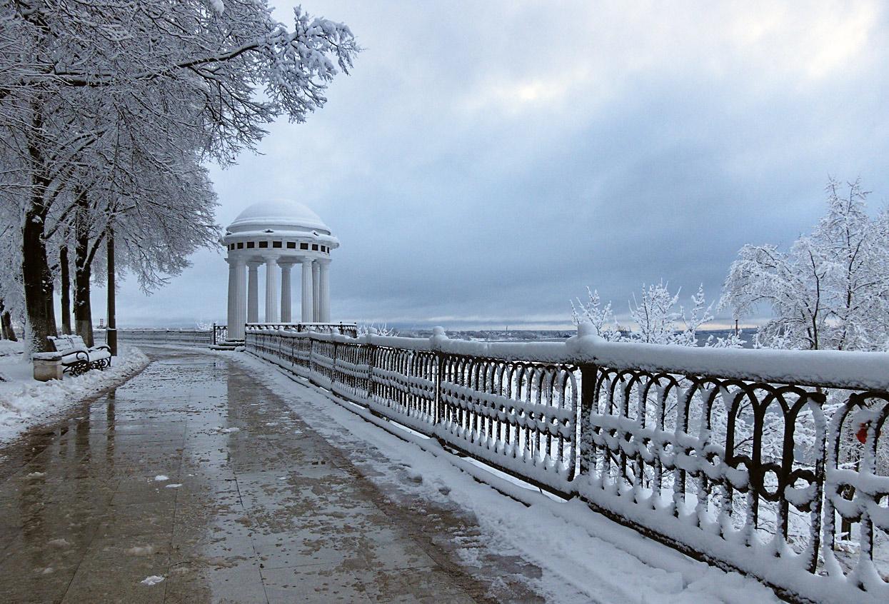 """фото """"После первого снегопада"""" метки: пейзаж, город,"""